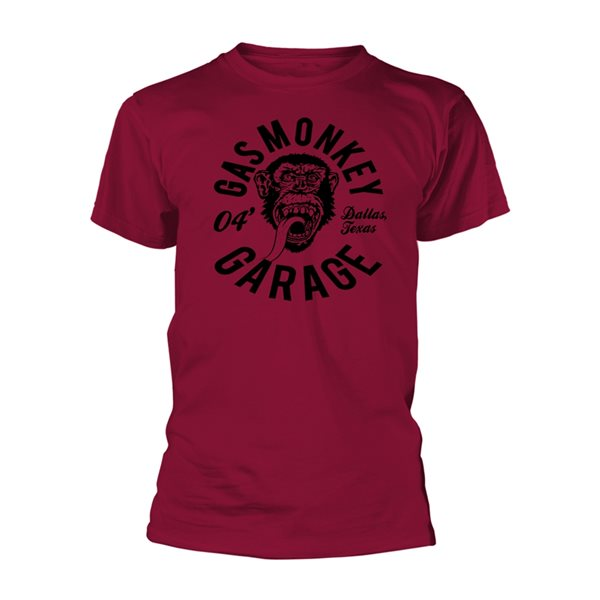 Gas Monkey Garage T-Shirt Monkey Mechanic