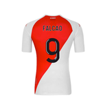 2020-2021 AS Monaco Kappa Home Shirt (FALCAO 9)