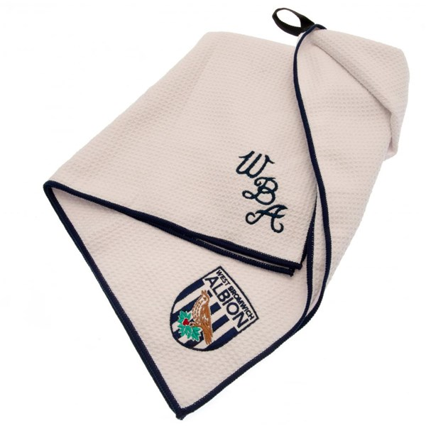 West Bromwich Albion FC Aqualock Caddy Towel