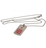 Liverpool FC Premier League Champions Colour Crest Dog Tag