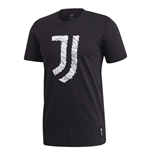 2020-2021 Juventus DNA Graphic Tee (Black)