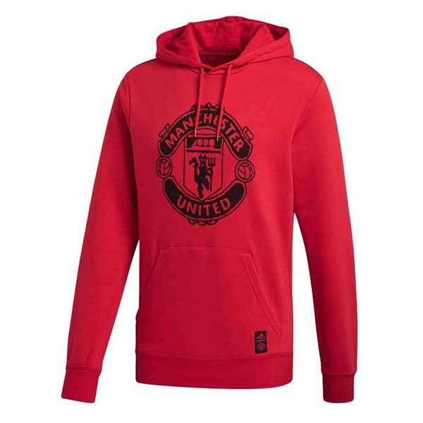 2020-2021 Man Utd DNA Hooded Top (Red)