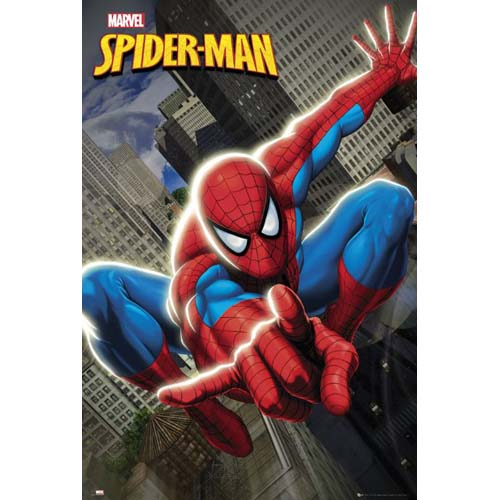 official spiderman poster buy online on offer