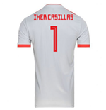 2018-2019 Spain Away Adidas Football Shirt (Iker Casillas 1)