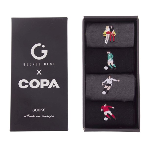 George Best Socks Box Set
