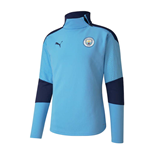 2020-2021 Manchester City Puma Training Fleece (Blue)