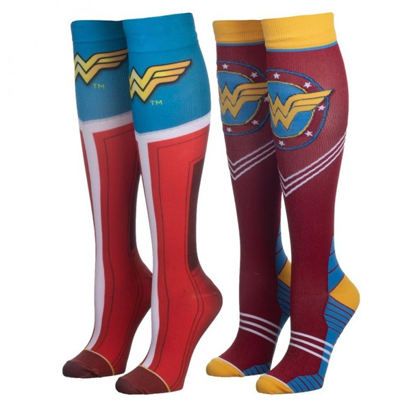 Wonder Woman 2-Pair Pack Compression Socks
