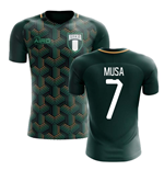 2020-2021 Nigeria Third Concept Football Shirt (Musa 7)