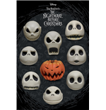 Nightmare Before Christmas Poster Faces 289
