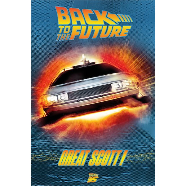 Back To The Future Poster Great Scott! 233