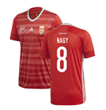 2020-2021 Hungary Home Adidas Football Shirt (NAGY 8)
