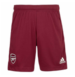 2020-2021 Arsenal Adidas Away Shorts (Maroon)
