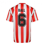 Score Draw Sunderland 1990 Retro Football Shirt (Ball 6)