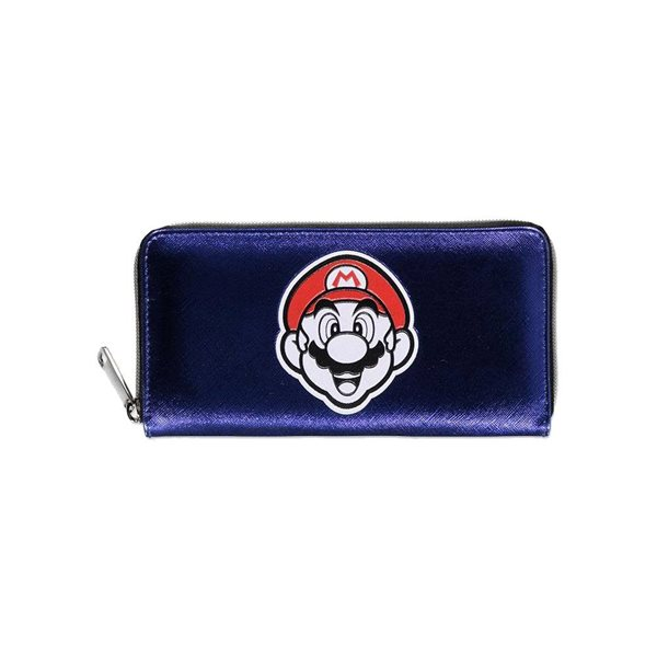 Nintendo Zip Around Wallet Mario Badge