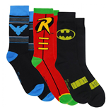 Batman Family 3-Pair Pack of Crew Socks