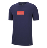 2020-2021 France Nike Travel Tee (Obsidian)
