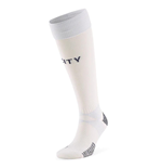 2020-2021 Manchester City Third Football Socks (White)