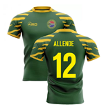 2020-2021 South Africa Springboks Home Concept Rugby Shirt (Allende 12)