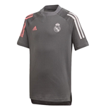 2020-2021 Real Madrid Training Tee (Grey) - Kids