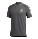 2020-2021 Real Madrid Training Tee (Grey)