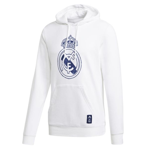 2020-2021 Real Madrid DNA Hoody (White)
