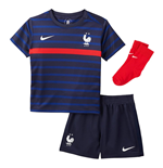 2020-2021 France Home Nike Baby Kit
