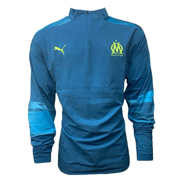 2020-2021 Marseille Half Zip Training Top (Vallarta Blue)