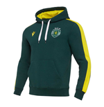 2020-2021 Sporting Lisbon Hooded Top (Green)
