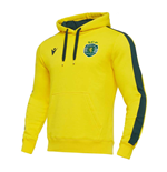 2020-2021 Sporting Lisbon Hooded Top (Yellow)