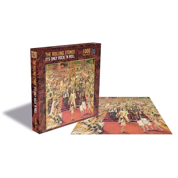 The Rolling Stones Puzzle IT'S Only Rock 'n Roll (1000 Piece Jigsaw PUZZLE)