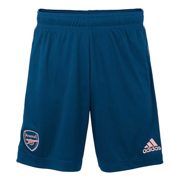 2020-2021 Arsenal Adidas Third Shorts Blue (Kids)