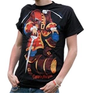 official captain morgan body costume tee shirt buy online on offer. Black Bedroom Furniture Sets. Home Design Ideas