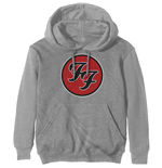 Foo Fighters Unisex Hoodie: FF Logo