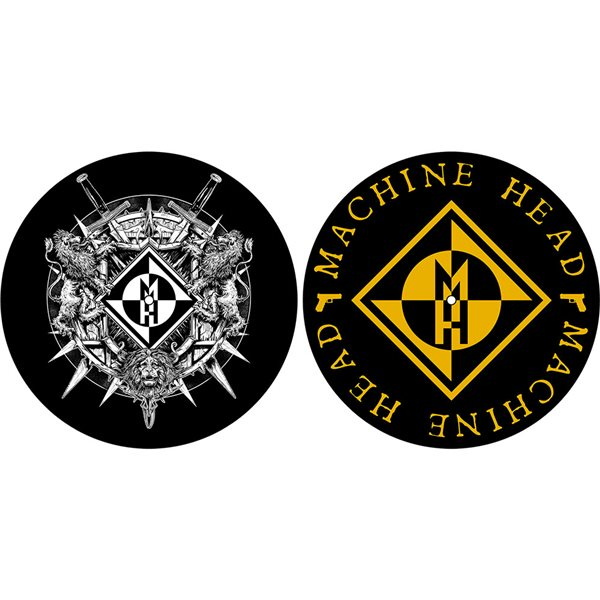 Machine Head Turntable Slipmat Set: Crest (Retail Pack)