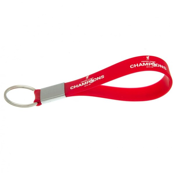 Liverpool FC Premier League Champions Silicone Keyring