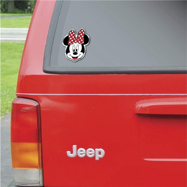 Disney Minnie Mouse Aluminum Decal