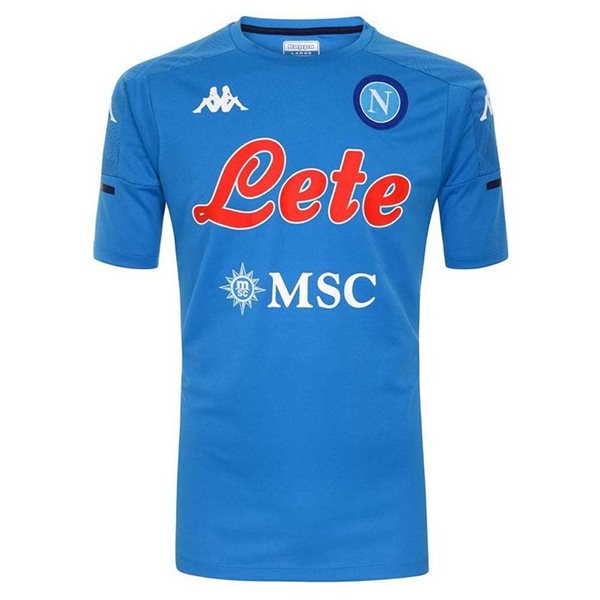 2020-2021 Napoli Training Shirt (Blue)