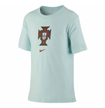 2020-2021 Portugal Evergreen Crest Tee (Mint) - Kids