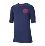 2020-2021 England Nike Training Shirt (Navy) - Kids