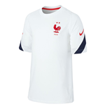 2020-2021 France Nike Training Shirt (White) - Kids