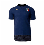 2020-2021 Italy Casuals Polo Shirt (Peacot)