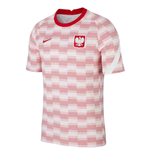 2020-2021 Poland Nike Pre-Match Training Shirt (White)