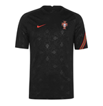 2020-2021 Portugal Nike Dry Pre-Match Training Shirt (Black)