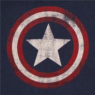 Captain America T Shirt Women S