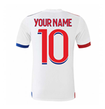 2020-2021 Olympique Lyon Adidas Home Football Shirt (Your Name)