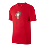 2020-2021 Portugal Nike Evergreen Crest Tee (Red) - Kids