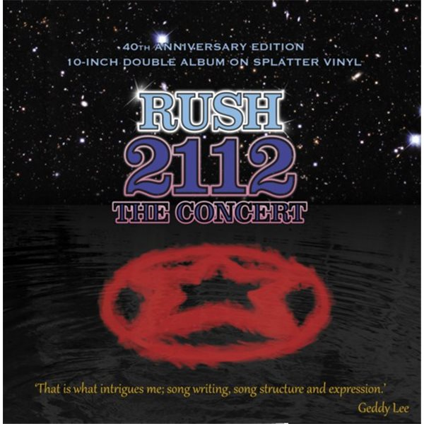 "Vynil Rush - 2112 The Concert (Double Splatter Vinyl) (10"")"
