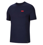 2020-2021 France Nike Voice Tee (Obsidian)