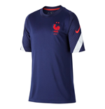 2020-2021 France Nike Training Shirt (Navy) - Kids