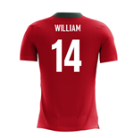 2020-2021 Portugal Airo Concept Home Shirt (William 14)